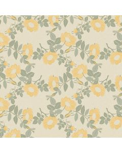 tafelzeil-captain-cook-wildflowers-oyster-bloemen-geel-groen-roos-afwasbaar