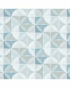 Modern-tafelzeil-Blauw-lijnen-bollen-Bonita-effects-grijs-hip