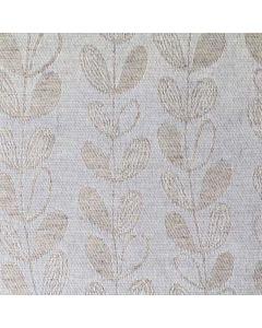 Jacquardi-beige-blaadjes-bloemen-natuur-lente-grijs-tafelzeil